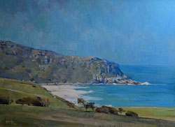 JOSHUA BALDWIN / Lyon - Au Sud d'Adelaide – Premier Prix Port Adelaide Art Show 2014  Acrylique sur toile
