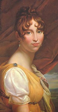 Hortense ca. 1805; F. Gérard