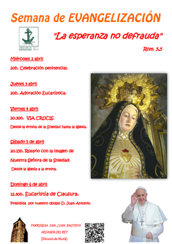 Cartel Nueva Evangelización
