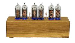 Elm Black Top Nixie Clock