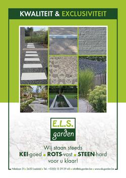 - Grafisch ontwerp - reclame - publiciteit - Grafisch ontwerp - Lommel - Leaflet & Flyer ELS Garden
