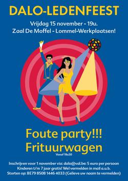 Dirk Van Bun Communicatie & Vormgeving - Grafische vormgeving - reclame - publiciteit - Lommel - Affiche Atletiekvereniging Dalo