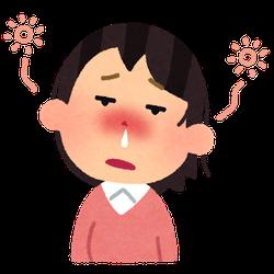 花粉症と洗濯物