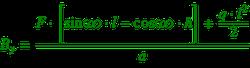 Formel zur Berechnung von Auflagerkraft B.y_ohne Zahlenwerte