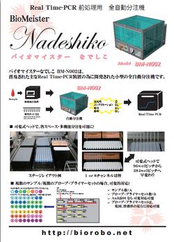 Nadeshiko II パンフ(表)