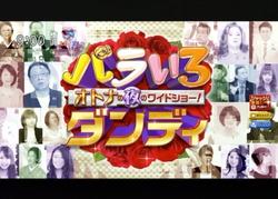 TOKYOMXテレビのバラいろダンディで津波シェルター放映00