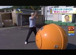 TOKYOMXテレビ29のバラいろダンディで津波シェルター放映
