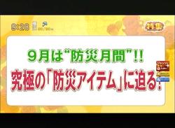 TOKYOMXテレビのバラいろダンディで津波シェルター放映01