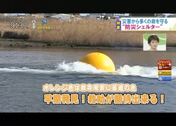 TOKYOMXテレビ23のバラいろダンディで津波シェルター放映