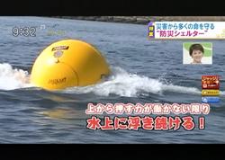 TOKYOMXテレビ20のバラいろダンディで津波シェルター放映
