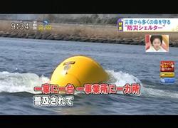TOKYOMXテレビ41のバラいろダンディで津波シェルター放映