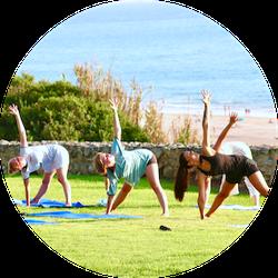 Yoga am Strand, Conil
