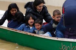 Hilfsaktion für Balkan Flutopfer