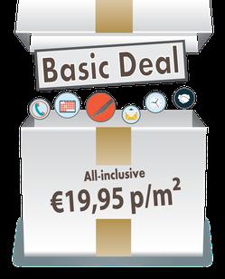 De BasicDeal vanaf €19,95 p/m² illustratie OP=OP wees er snel bij - bespaar op uw laminaatvloer