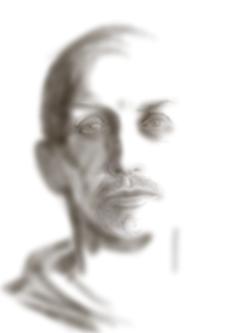 O. T., 2018. (Digitale Zeichnung/Ausdruck auf Papier, 29,5 x 21 cm)