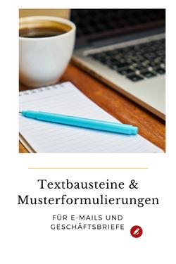 Textbausteine Geschäftsbrief #büro #musterformulierung
