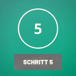 Schritt 5