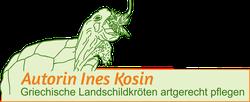 """Ines Kosin, Autorin Schildkrötenbuch """"Die Griechische Landschildkröte"""""""