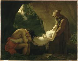 L'Absolu du Romantisme par Girodet ou   « Atala au tombeau » - 1808