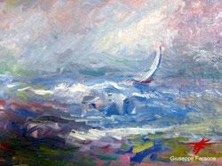 tempesta, dipinto