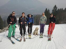 Auf Skitour in Garmisch