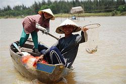 Pêcheurs vietnamiens