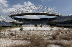 ah qu'il était beau mon stade Grec ...