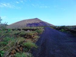 Typische Landschaft auf Lanzarote