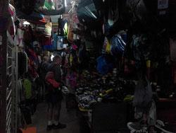 Unendliche Weiten auf dem Textilmarkt von Praia