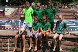 SSG Wettkampfschwimmer im Terrassenbad Lahr (Foto:Privat)