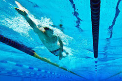Zug um Zug elegant durchs Wasser gleiten – den Schwimmern ist das derzeit nicht möglich. Weder im Training, noch im Wettkampf. Foto: Robert Schlesinger
