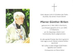 Foto: Christine Gevers/Gebetsblatt des Trauergottesdienstes