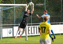 VfL-Torhüter Rick Hofkamp musste in der ersten Halbzeit mehrfach in höchster Not retten. Nach der Pause war er nahezu beschäftigungslos.