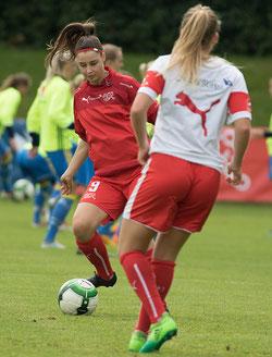 Hannah Oberdorfer war die erste Spielerin des SKB, die in einem Teamaufgebot stand. © Hepberger