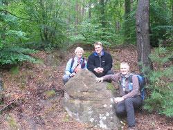 Gruppenfoto noch vor dem Fund