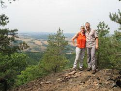 Tolle Aussichten auf das Pfälzer Bergland