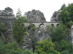 Das Wahrzeichen der Sächsischen Schweiz