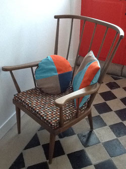 fauteuil Baumann éventail