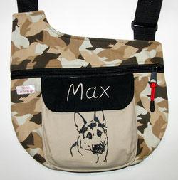 Gassitasche,  Tasche , Hund, Schäferhund