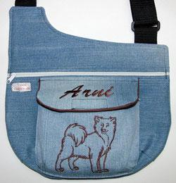 Gassitasche,  Tasche , Hund, Eurasier