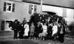Kirchweih in Flehingen – 1930er Jahre