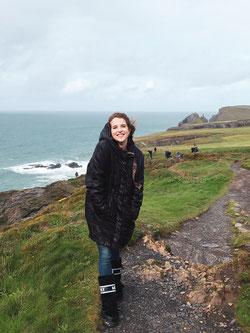 Schauspielerin Leonie Brill in Cornwall