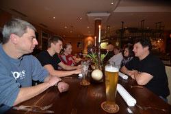 Beim Essen in Esslingen