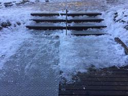 新潟雪氷滑る止めマット