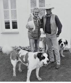 Jey Petersen (DIE BALLERMÄNNER) und André Engelhardt