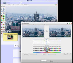 Phixr photo editing tools