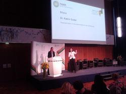 Kulturwandel durch Diversity. Katrin Suder, Staatssekretärin im Bundesministerium der Verteidigung, zieht beim FidAR-Forum in Berlin Bilanz. Bild MSG