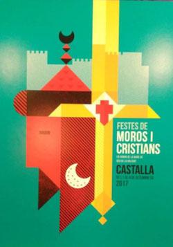 Moros y Cristianos de Castalla 2015 Cartel y Programa
