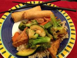 Stir Fried Vegetables & Tofu