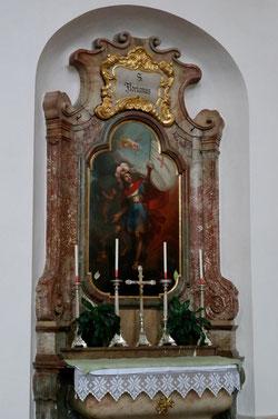 Floriansaltar in der Sebastianskirche
